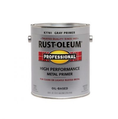 Rustoleum Professional High Performance Oil Based Primer Voc Gray Gallon K7781