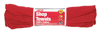 Shop Towels Red Roll/12