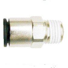 """1/4"""" OD Tube x 1/4"""" Male NPT Coilock Connector"""
