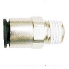"1/4"" OD Tube x 1/8"" Male NPT Coilock Connector"