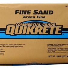 Quikrete Commercial Grade Sand - FINE 80lb