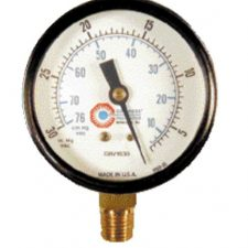 0-30 PSI Air Pressure Gauge.