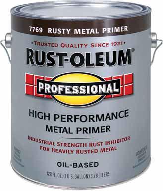 Rustoleum Professional High Performance Oil Based Rusty Metal Primer Gallon 7769