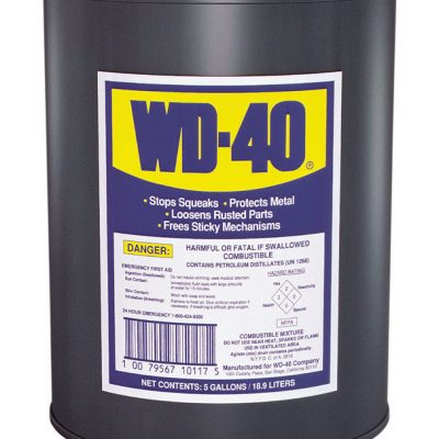WD-40 Lubricant 5 Gallon
