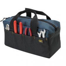 """Custom Leathercraft 19"""" Pocket Tool Tote"""