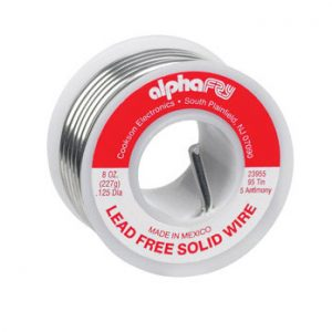 Lead Free Solid Wire Solder 1/2 lb Spool