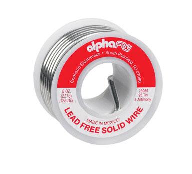 Lead Free Solid Wire Solder 1/2 lb Spool
