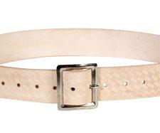Custom Leathercraft Embossed Leather Work Belt