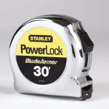 """30ft x 1"""" Stanley Powerlock Micro Tape Rule"""