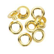 "1/4"" General Tools Grommet Refill 24pc Brass"