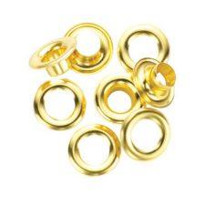 "1/6"" General Tools Grommet Refill 24pc Brass"