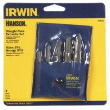 Irwin-Hanson 5 Piece Screw Extractor Set