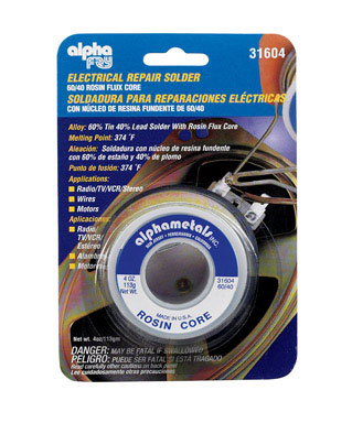 Electrical Repair Solder 4oz