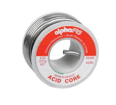Acid Core Solder 1/2 lb Spool