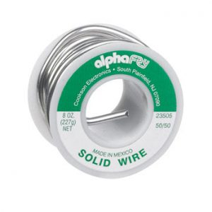 Perna-Bond Solid Wire Solder 1/2lb Spool