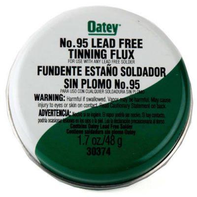 Oatey No.95 Lead Free Tinning Flux 1.7oz