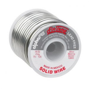Lead-Free Solid Wire Solder 1lb Spool