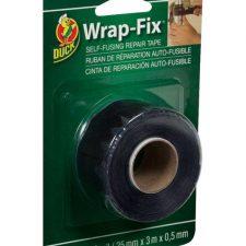 """Wrap-Fix 1"""" x 10ft. Repair Tape Black"""
