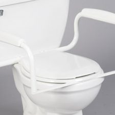 Toilet Safety Bar (Toilet & seat sold seperatly)