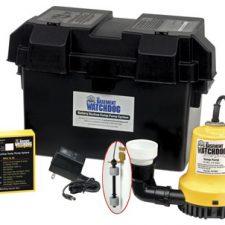 Basement Watchdog Emergency Sump Pump.