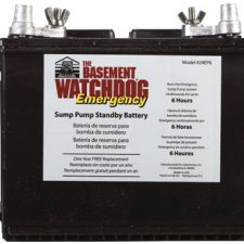 Basement Watchdog Deep Cycle Battery