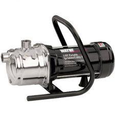 PLS100 1HP Wayne Portable Stainless Steel Lawn Sprinkler Pump