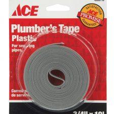 """3/4"""" x 10ft Plastic Pipe Hanger Tape"""