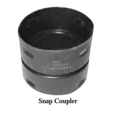 "6"" Corrugated Snap Coupling"