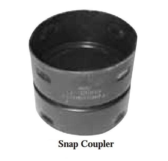 "6"" Corrugated Snap Coupling"