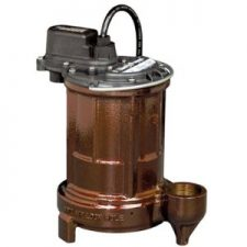 Liberty 257 Cast Iron Submersible Sump/Effluent 1/3HP