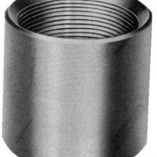 "1-1/2"" Galvanized Steel Coupling"
