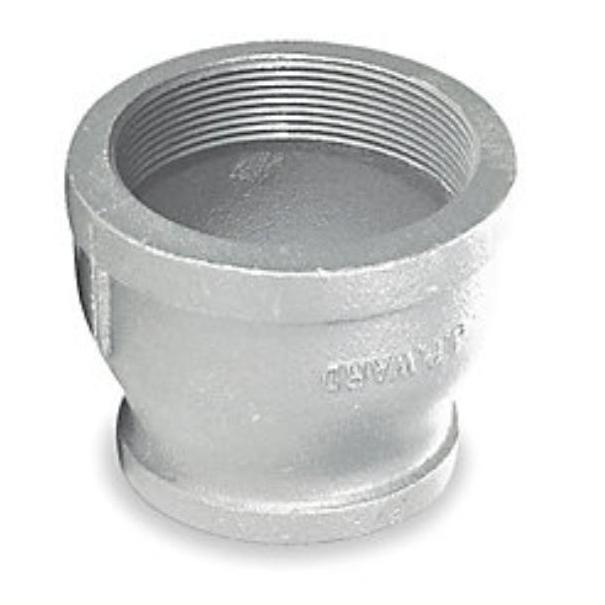 4  X 3  Galvanized Reducing Coupling  sc 1 st  Warren Pipe and Supply & 4