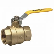 "3/8"" IPS Ball Valve 600PSI Full Port Brass LF"