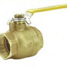 "3"" IPS Commercial Ball Valve 400PSI Full Port Forged Brass"