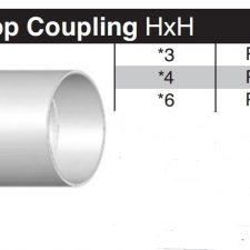 "6"" Sewer & Drain SDR35 Coupling P606"