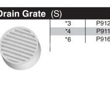 "6"" Sewer & Drain Grate P916"
