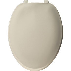 Bemis Elongated Tradiional Plastic Toilet Seat 170 006 Bone