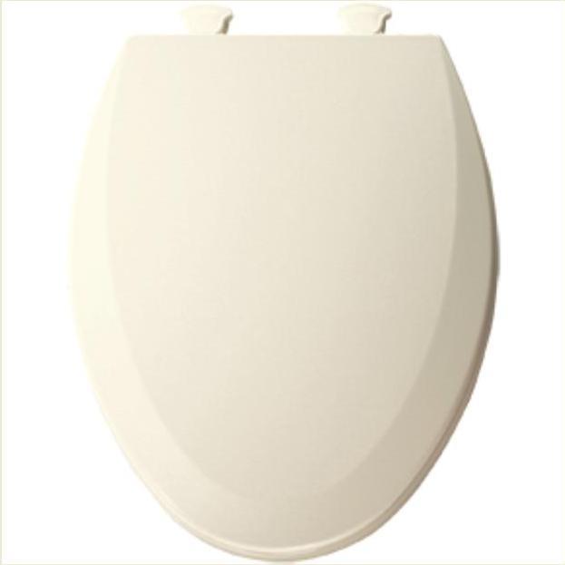 Bemis Elongated Wood Toilet Seat Beveled Edge Cover