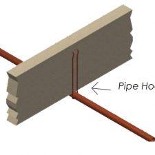 """3/4"""" x 6"""" Steel Pipe Hook"""