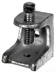 """2-1/2"""" 1/2-13 Beam Clamp Malleable Iron"""