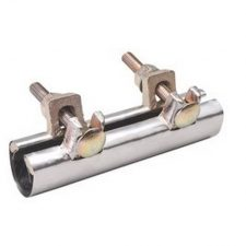 "2-1/2"" 2-Bolt Stainless Steel Pipe Repair Clamp"