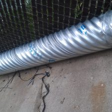 "12"" X 10ft Galvanized Culvert Pipe 16GA"