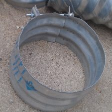 "Culvert Band Coupler 12"" wide for 12"" Culvert Pipe"