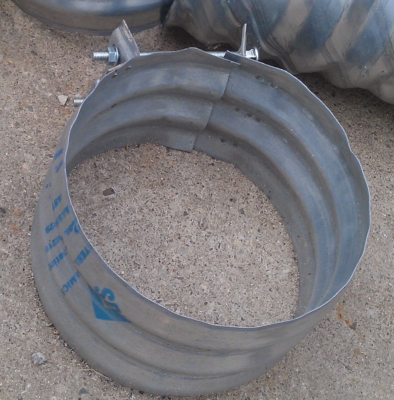 """Culvert Band Coupler 12"""" wide for 12"""" Culvert Pipe"""