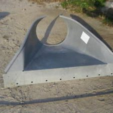 "Culvert Apron for 12"" Culvert Pipe 16GA"