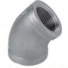 "1-1/4"" Stainless Steel 45 Degree Elbow"