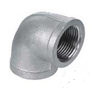 """1/8"""" Stainless Steel 90 Degree Elbow"""