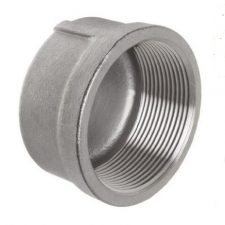 """1-1/2"""" Stainless Steel Cap"""