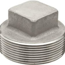 "1-1/4"" Stainless Steel Square Head Plug"
