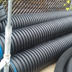 "12"" x 20 ft Plastic Culvert"